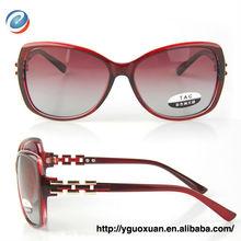2013 china sunglasses for lady color change polarized UV400 big frame lady sunglasses 2450