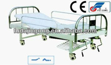 A-37 Movable full-fowler bed with suspended stainless steel headboards/medical bed for patients