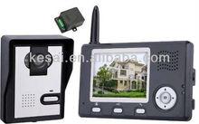 Wireless Video Door Phone KX3501,2013 new design wireless video door bell