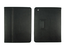 popular hot sell smart leather case cover for iPad2 with stand