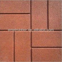 China anti-slip rubber floor tiles