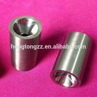Tungsten carbide spraying nozzle