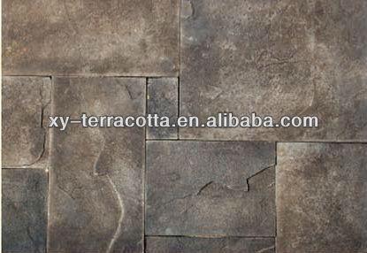 Piedra decorativa arte de piedra de pared antiguo - Piedra decorativa pared ...
