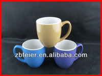 two tone color mini mug,ceramic small mug