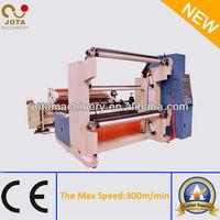 Dance Roller Plastic Film Big Roll Rewinder,High Speed Slitting Rewinding Machine,Paper Web Slitter Rewinder