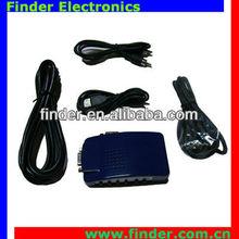 Composite Video AV S-Video RCA to PC Laptop VGA TV Converter adapter box