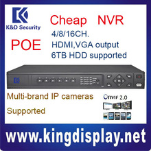 NVR3216-P Dahua poe NVR ONVIF2.0 IP CAMERA SUPPORTED 4 Privacy Masking 6TB HDD 30 days record