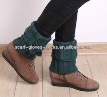 Plain Knitted Short Leg Warmer 12S2294