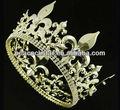 homens wholesaleimperial medieval fleur de lis de ouro coroa de rei ct1716