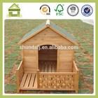 SDD10 Outdoor wooden dog kennel