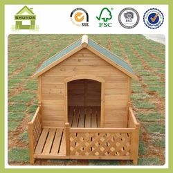 SDD10 Outdoor wooden dog kennel