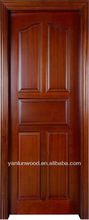2013 new design 5-panel solid wooden interior door