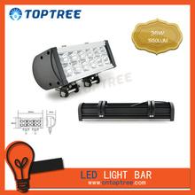 rectangle off road led light bar 36W led 4x4 spotlights