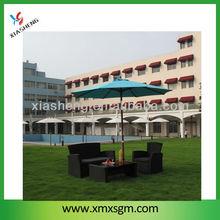 3.0M courtyard umbrella with crank/outdoor umbrella/gazebo umbrella