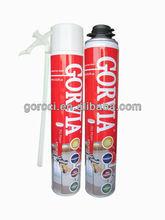 Multi-purpose spray Polyurethane Foam sealant construction