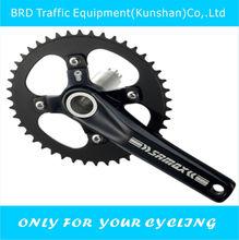 SAMOX alloy black mtb bicycle crankset
