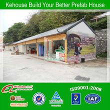 China fast installation prefabricated villa for sale hurghada