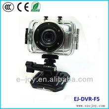 2.0-inch touch screen HD 720P Waterproof Sports Action Cam mini cam sport helmet EJ-DVR-F5