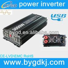 3KW pure sine wave power inverter inductive load