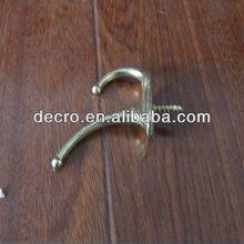 zinc alliy double coat hook or hat hook