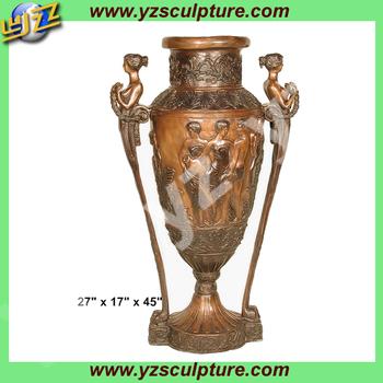 Cast Chinese style Antique bronze vase BASN-W013