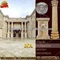 colunas de mármore