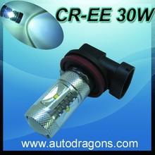 CR-EE H11 H8 LED BULB 30W white warm white LENS Global lamp DRL HEAD LIGHT