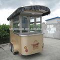 2014 jx-cr320 de la calle de lujo móvil kiosco de alimentos carro de café para la venta
