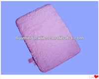 microfiber polyester anti-slip mat with backing SBR ,modern memory foam bath rugs