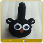 SG-6863- Winter Black Colour Knitted Animal Ear Muff