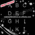 La piedra de corea diamantes deimitación de apliques- alfabeto para libre de prendas de vestir de diseño personalizado( 2- 5 10)