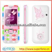 top cell phones 2.4 inch QVGA screen Q8 disco light phone quadband dual sim phone support WAP,GPRS