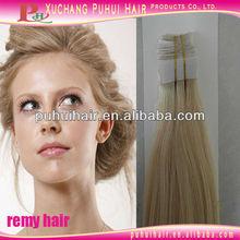 "#613 silky straight Brazilian skin weft hair extension 8""-32"" travel set"