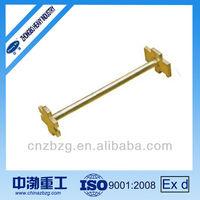 Aluminum or Beryllium Copper Alloy Double Bung Wrench