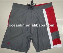 2013 new mens fashion shorts with mesh lining