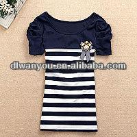 Cotton tops ladies blouses, spandex women clothes manufacturer exporters