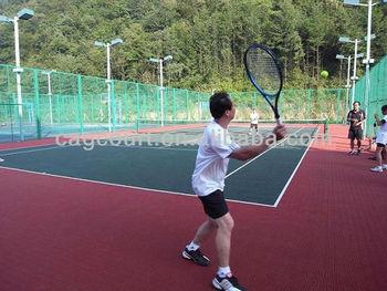 CAG Interlocking Tennis Flooring Tile, Tennis Court Flooring Tile