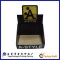 design personalizado caixa de exposição da caixa