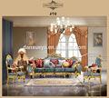 Dxy- 807# el sanatları avrupa oyulmuş Yeni Klasik kumaş koltuk