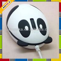 cute Panda mini laptop optical mouse