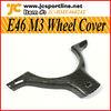 E46 M3 Carbon Fiber Steering Wheel Cover For BMW E46 Interior Trim