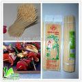 vendas fábrica de bambu para churrasco espetos de carne