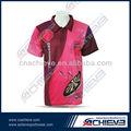 Polo camisetas personalizadas/pesca diseño de camisetas al por mayor