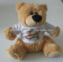 """13"""" Cuddle Bears with a sublimation T-shirt"""