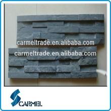 black slate culture stone tile