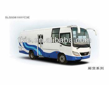 7.5meter SLG5081XXYC3E mini van truck