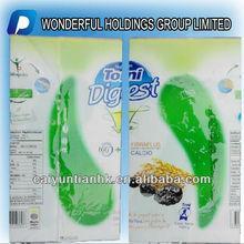 Soft roll film packaging nuts, seed, food, back heat seal packaging film