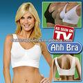 3 cores genie ahh bra mulheres shaper especial de dormir sem costura sutiã push-up underwear controle xxxl tv genie sexy bra plus size