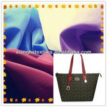 100%polyester satin taffeta fabric with pu material