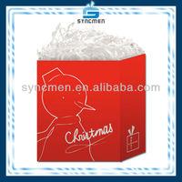 Hot sale Christmas Art Paper Bag For Gift